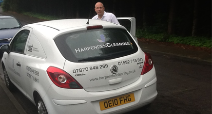 Grant Hollier of Harpenden Cleaning Ltd